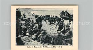 AK / Ansichtskarte Militaria_Deutschland_WK2 Von Stalingrad bis N?rnberg Dieppe Nach 9 Stunden Kampf Eilebrecht Zigaretten