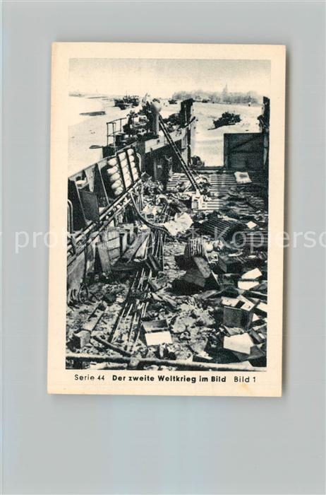 AK / Ansichtskarte Militaria_Deutschland_WK2 Von Stalingrad bis N?rnberg Dieppe Eilebrecht Zigaretten  0