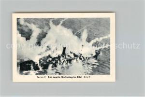 AK / Ansichtskarte Militaria_Deutschland_WK2 Von Stalingrad bis N?rnberg Wende auf dem Atlantik Verluste ?ber Verluste Eilebrecht Zigaretten