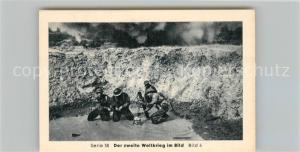 AK / Ansichtskarte Militaria_Deutschland_WK2 Von Stalingrad bis N?rnberg Landekopf Salerno Eilebrecht Zigaretten
