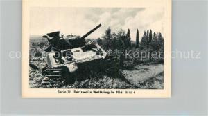 AK / Ansichtskarte Militaria_Deutschland_WK2 Von Stalingrad bis N?rnberg Monte Cassino ?berlegenheit der Alliierten Eilebrecht Zigaretten