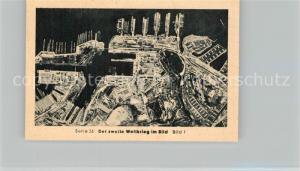 AK / Ansichtskarte Militaria_Deutschland_WK2 Von Stalingrad bis N?rnberg Toulon Antwort der Achse Eilebrecht Zigaretten