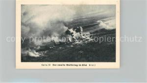 AK / Ansichtskarte Militaria_Deutschland_WK2 Von Stalingrad bis N?rnberg Historischer Augenbkuch Fliegeraufnahme von Stalingrad Eilebrecht Zigaretten