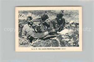 AK / Ansichtskarte Militaria_Deutschland_WK2 Von N?rnberg bis Stalingrad Verb?ndete im Kampf gegen Russland Italiener Eilebrecht Zigaretten