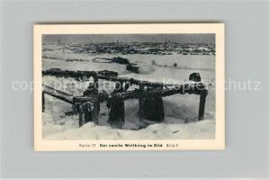 AK / Ansichtskarte Militaria_Deutschland_WK1 Von N?rnberg bis Stalingrad Die Heimat spendet f?r das Ostheer Wjasma Eilebrecht Zigaretten