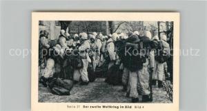 AK / Ansichtskarte Militaria_Deutschland_WK2 Von N?rnberg bis Stalingrad Die Heimat spendet f?r das Ostheer Neue Ausr?stung Eilebrecht Zigaretten