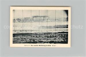 AK / Ansichtskarte Militaria_Deutschland_WK2 Von N?rnberg bis Stalingrad Leningrad Scherenfernrohr Eilebrecht Zigaretten