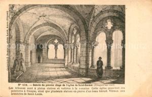AK / Ansichtskarte Saint Germer de Fly Galerie du premier etage de l'Eglise de Saint Germer Saint Germer de Fly