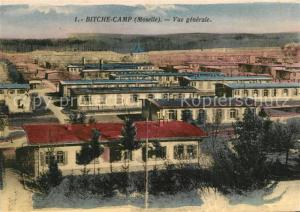 AK / Ansichtskarte Bitche_Moselle Bitche Camp Vue generale Bitche_Moselle