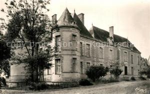 AK / Ansichtskarte Germigny l_Exempt Chateau de Chateaurenaud XVIIe siecle facade du parc Germigny l Exempt