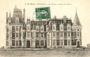 AK / Ansichtskarte Vouzeron Chateau facade de l entree Vouzeron