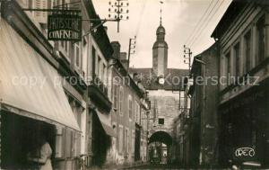 AK / Ansichtskarte Mehun sur Yevre Rue Jeanne d Arc et Porte de Ville Mehun sur Yevre