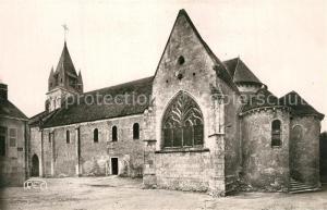 AK / Ansichtskarte Mehun sur Yevre Eglise Romane XIe et XIIe siecle Mehun sur Yevre
