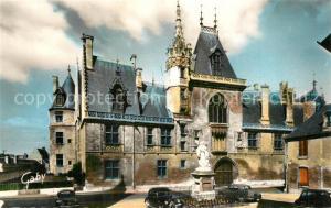 AK / Ansichtskarte Bourges Palais Jacques Coeur Statue Monument Bourges