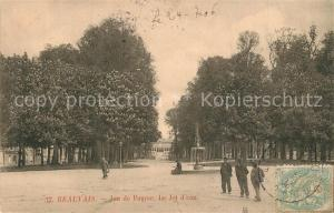 AK / Ansichtskarte Beauvais Jeu de Paume Jet d eau Beauvais