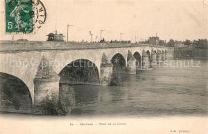 AK / Ansichtskarte Orleans_Loiret Pont de la Loire Orleans_Loiret