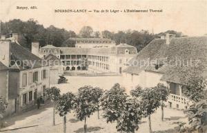 AK / Ansichtskarte Bourbon Lancy Vue de Saint Leger Etablissement Thermal Bourbon Lancy