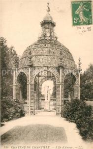 AK / Ansichtskarte Chantilly_Oise Chateau Ile d Amour