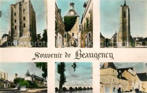 AK / Ansichtskarte Beaugency Tours Pont Chateau Dunois Beaugency