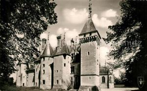 AK / Ansichtskarte Meillant Chateau facade feodale Meillant