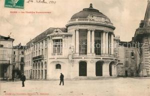 AK / Ansichtskarte Agen_Lot_et_Garonne Theatre Ducourneau Agen_Lot_et_Garonne