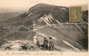 AK / Ansichtskarte Le_Mont Dore_Puy_de_Dome Panorama Puy Ferrand Le_Mont Dore_Puy_de_Dome