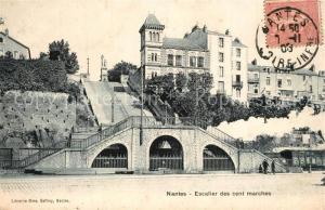 AK / Ansichtskarte Nantes_Loire_Atlantique Escalier des cent marches Nantes_Loire_Atlantique