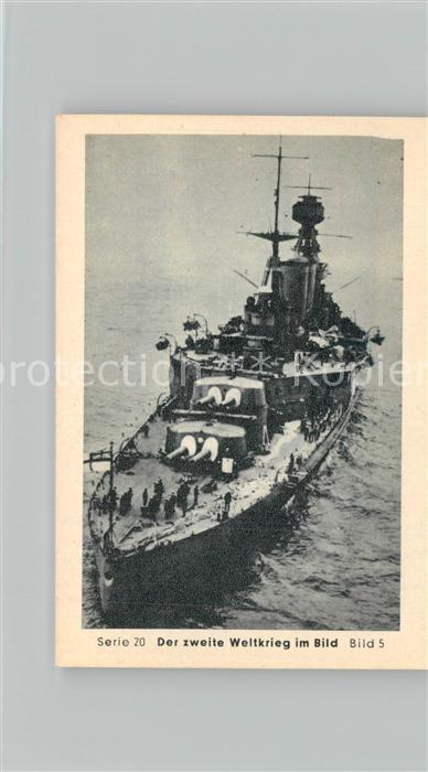 AK / Ansichtskarte Militaria_Deutschland_WK2 Von N?rnberg bis Stalingrad Heidenkampf der Bismarck Britische Marine Eilebrecht Zigaretten  0