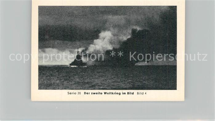 AK / Ansichtskarte Militaria_Deutschland_WK2 Von N?rnberg bis Stalingrad Heidenkampf der Bismarck Versunken Eilebrecht Zigaretten  0