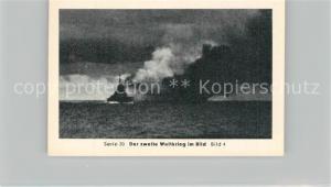 AK / Ansichtskarte Militaria_Deutschland_WK2 Von N?rnberg bis Stalingrad Heidenkampf der Bismarck Versunken Eilebrecht Zigaretten