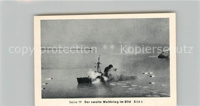 AK / Ansichtskarte Militaria_Deutschland_WK2 Von N?rnberg bis Stalingrad Kriegsmarine auf allen Meeren Minenr?umboote Eilebrecht Zigaretten  0