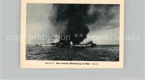 AK / Ansichtskarte Militaria_Deutschland_WK2 Von N?rnberg bis Stalingrad Kriegsmarine auf allen Meeren Admiral Graf Spee im Todeskampf Eilebrecht Zigaretten