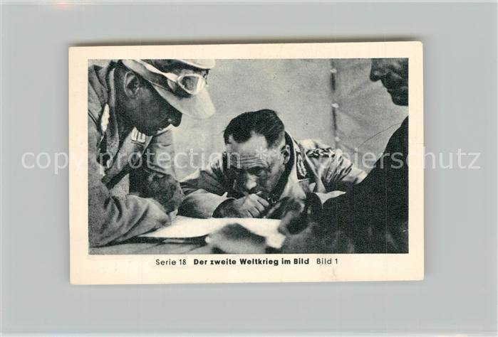 AK / Ansichtskarte Militaria_Deutschland_WK2 Von N?rnberg bis Stalingrad Rommel R?ckzug und Gegenstoss Eilebrecht Zigaretten  0