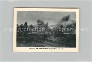 AK / Ansichtskarte Militaria_Deutschland_WK2 Von N?rnberg bis Stalingrad Rommel Vor Tobruk Eilebrecht Zigaretten