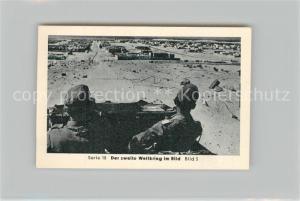 AK / Ansichtskarte Militaria_Deutschland_WK2 Von N?rnberg bis Stalingrad Rommel Marsa Matruk Eilebrecht Zigaretten