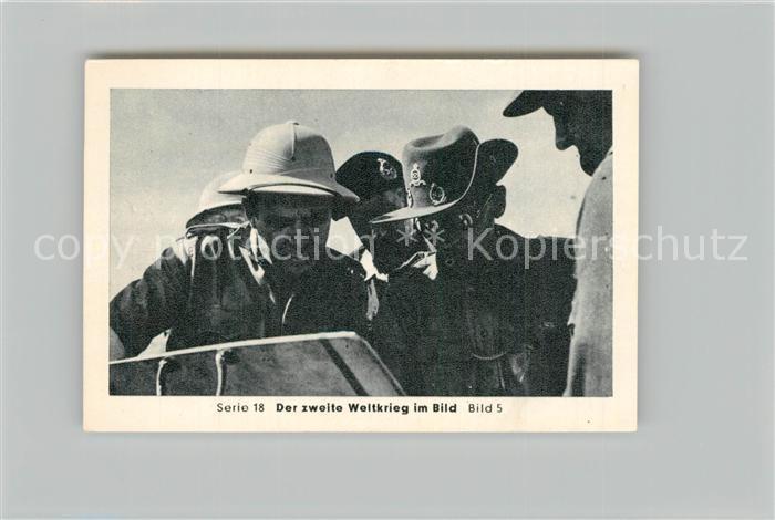 AK / Ansichtskarte Militaria_Deutschland_WK2 Von N?rnberg bis Stalingrad Rommel Montgomery Eilebrecht Zigaretten  0