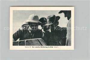 AK / Ansichtskarte Militaria_Deutschland_WK2 Von N?rnberg bis Stalingrad Rommel Montgomery Eilebrecht Zigaretten
