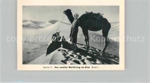 AK / Ansichtskarte Militaria_Deutschland_WK2 Von N?rnberg bis Stalingrad Afrika Krieg in der W?ste Eilebrecht Zigaretten
