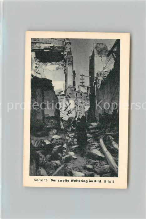 AK / Ansichtskarte Militaria_Deutschland_WK2 Von N?rnberg bis Stalingrad Kreta Eilebrecht Zigaretten  0
