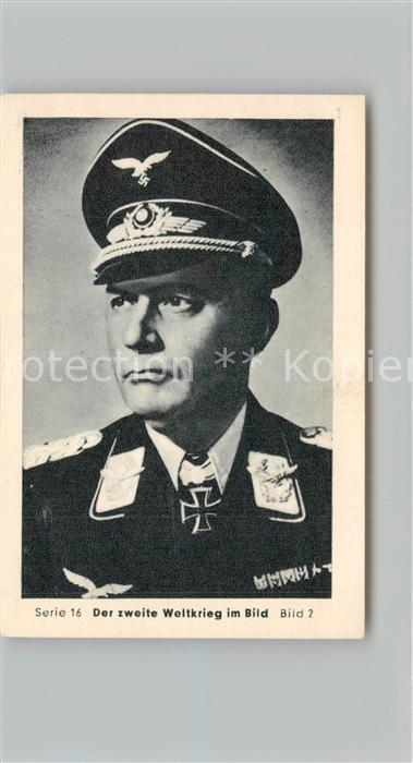 AK / Ansichtskarte Militaria_Deutschland_WK2 Von N?rnberg bis Stalingrad Kreta Fallschirmj?gergeneral Student Eilebrecht Zigaretten  0