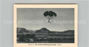 AK / Ansichtskarte Militaria_Deutschland_WK2 Von N?rnberg bis Stalingrad Kreta Gesch?tze am Fallschirm Eilebrecht Zigaretten