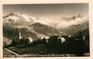 AK / Ansichtskarte Fontcouverte_la_Toussuire Panorama village Alpes Fontcouverte_la_Toussuire