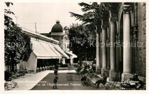AK / Ansichtskarte Chatel Guyon Casino Etablissement Thermal Chatel Guyon