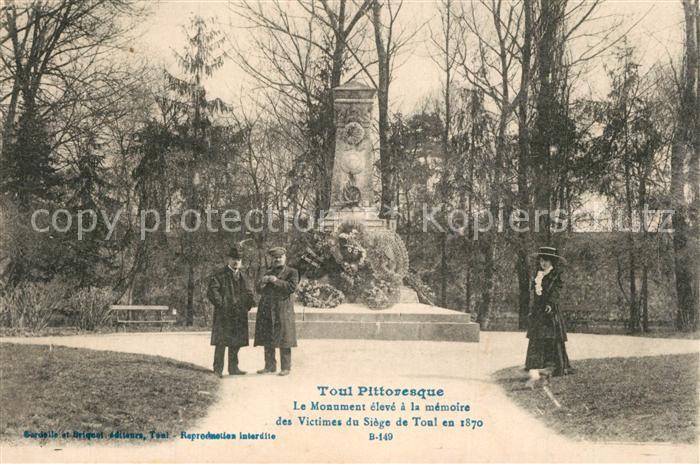 AK / Ansichtskarte Toul_Meurthe et Moselle_Lothringen Monument aux Morts Kriegerdenkmal Toul_Meurthe et Moselle 0
