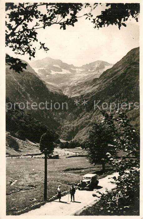 AK / Ansichtskarte Luchon_Haute Garonne Cirque du Lys Pic et Glacier de Crabioules Alpes Luchon Haute Garonne 0