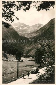 AK / Ansichtskarte Luchon_Haute Garonne Cirque du Lys Pic et Glacier de Crabioules Alpes Luchon Haute Garonne