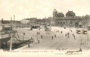 AK / Ansichtskarte Dunkerque Quai du Leughenaer et le Mink Dunkerque