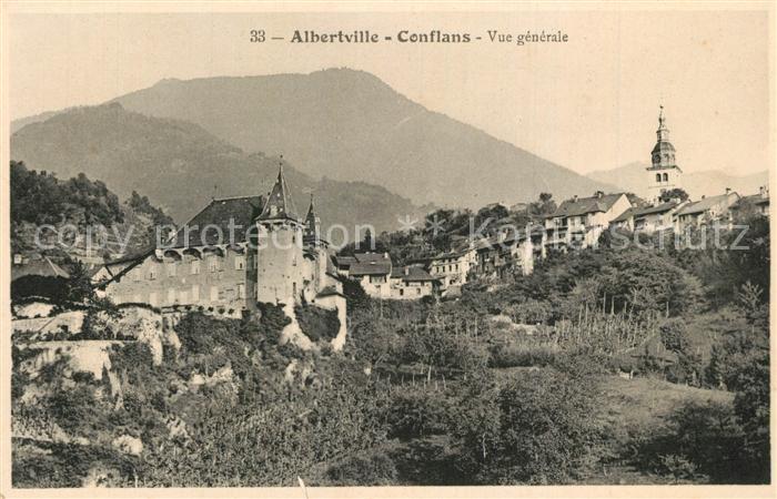 AK / Ansichtskarte Conflans_Savoie Vue generale Conflans_Savoie 0