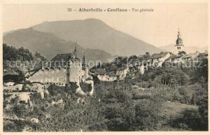 AK / Ansichtskarte Conflans_Savoie Vue generale Conflans_Savoie