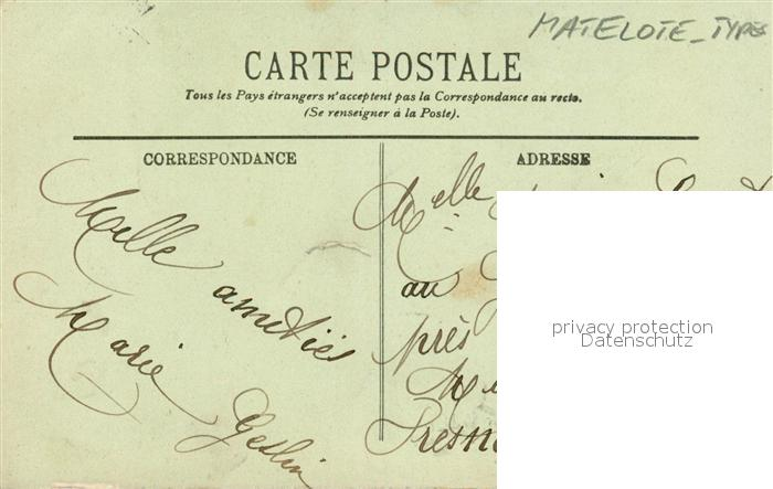 AK / Ansichtskarte Boulogne sur Mer Matelote en Carmagnole Costumes Types Trachten Boulogne sur Mer 1